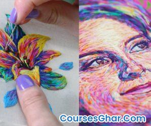 Painting with Thread: Modern Embroidery for Beginners