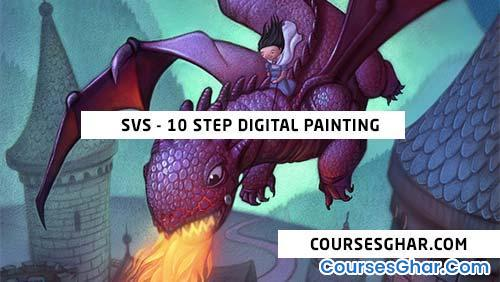 SVS – 10 Step Digital Painting