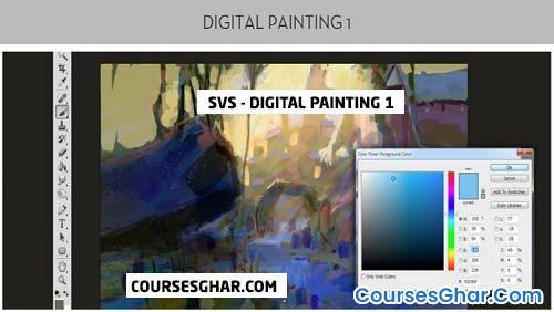 SVS – Digital Painting 1 – Coursesghar.com