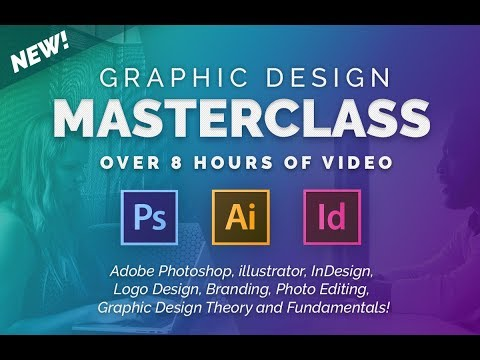 Graphic Design Masterclass – Learn GREAT Design