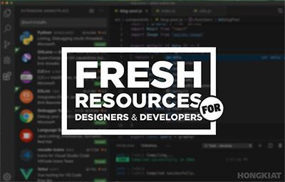 Huge and Fresh Resources For Web Designers & Developers | CoursesGhar.Com