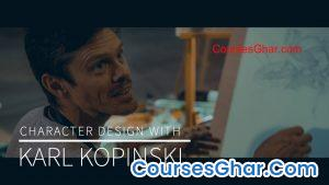 Kazone Art – Character Design With Karl Kopinski [Compressed]