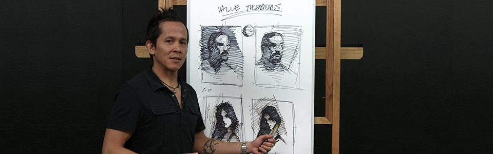 NMA.art – Portrait Drawing for Beginners | Part 1: Planning Your Portrait with Chris Legaspi
