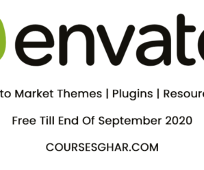 Envato Market Themes | Plugins | Resources | Free Till End Of September 2020 – CoursesGhar.Com