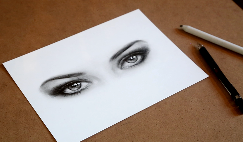 Let's Draw: Sketch Realistic Eyes with Pencils
