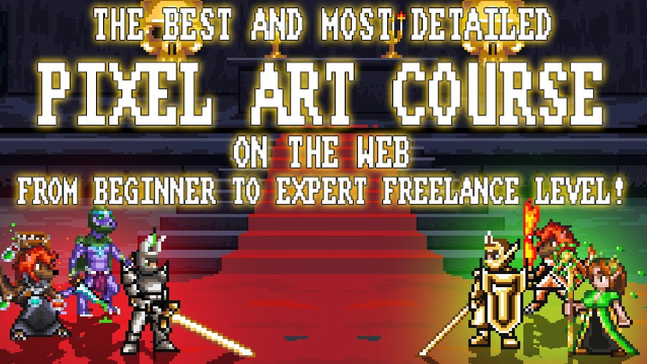 Pixel Art Master Course – Beginner to Professional/Freelance
