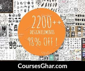 [CreativeMarket] 2200+ Design Elements Free Download – CoursesGhar.com