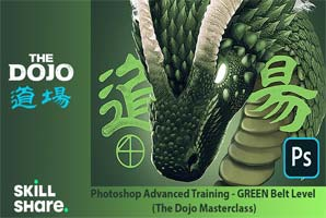Skillshare – Photoshop Advanced Training – GREEN Belt Level (The Dojo Masterclass)