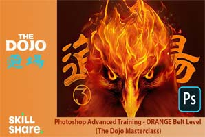 Skillshare – Photoshop Advanced Training – ORANGE Belt Level (The Dojo Masterclass)