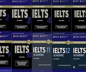 Cambridge IELTS books pdf+audio (1-15)